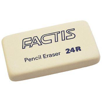 Gumica sintetička 24R Factis bijela komad