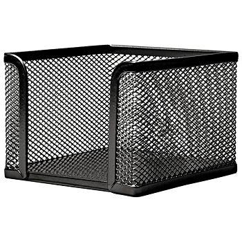 Blok kocka žica 9,5x9,5x9,5cm LD01498 Fornax crna