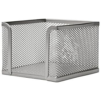 Blok kocka žica 9,5x9,5x9,5cm LD01499 Fornax srebrna