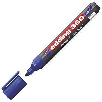 Marker za bijelu ploču 1,53mm Edding 360 plavi