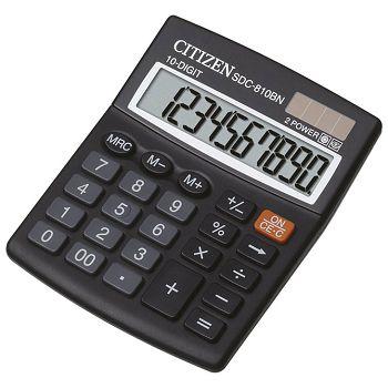 Kalkulator komercijalni 10mjesta Citizen SDC810BN blister