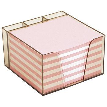 Blok kocka pvc 10x8,5x6cm s papirom u boji Elisa