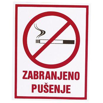 Naljepnice Zabranjeno pušenje Etikgraf