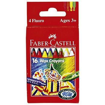 Boje voštane 16boja Faber Castell 120050 blister