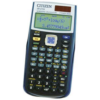 Kalkulator tehnički 102mjesta 251 funkcija Citizen SR270X crni blister