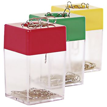 Kutija za spajalice kvadrat magnetna Fornax F1001