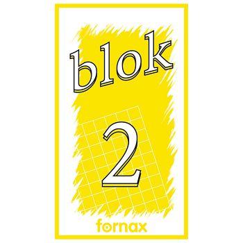 Blok za bilješke  65x115mm 50L br2 Fornax