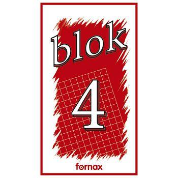 Blok za bilješke  90x160mm 50L br4 Fornax