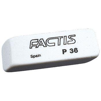 Gumica plastična P36 soft Factis bijela komad