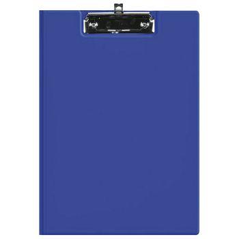 Ploča klip s preklopomkvačica A4 kartonski pp Fornax plava
