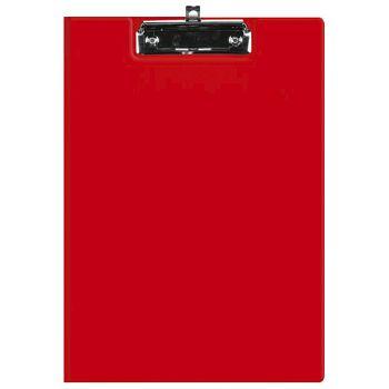 Ploča klip s preklopomkvačica A4 kartonski pp Fornax crvena
