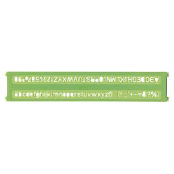 Šablona ravna 10mm Arda 30210 blister