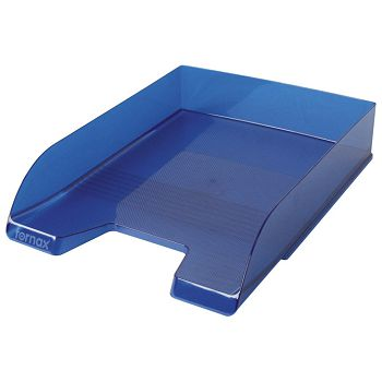 Ladica za spise Fornax prozirno plava