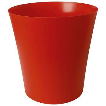Koš za smeće pp 18L Fornax crveni