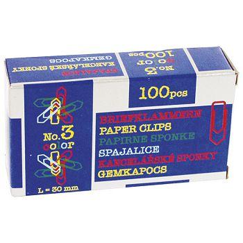 Spajalice ručne boja br3 pk100 Nikomill boja