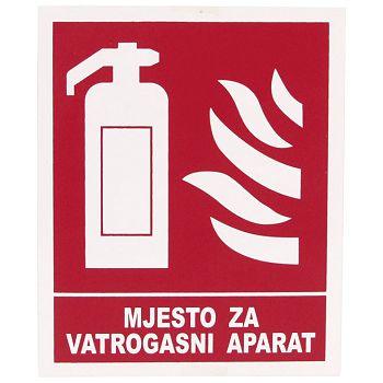 Naljepnice Mjesto za vatrogasni aparat Etikgraf