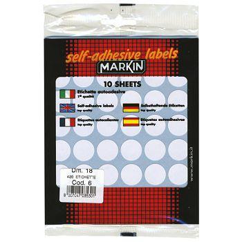 Etikete slep fi18mm pk10L Markin 10006 blister