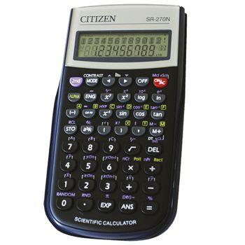 Kalkulator tehnički 102mjesta 236 funkcija Citizen SR270N crni blister