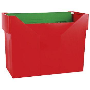 Kutija za mape viseće 5mapa Donau 7422001PL04 crvena