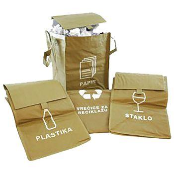 Vreća eko za razvrstavanje smeća 35x51,5cm 41