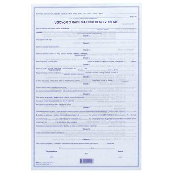 Obrazac E42 ugovor o radu na određeno vrijeme Fokus