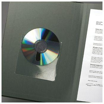 Etui za 1 CD pp samoljepljiv s prstohvatom pk10 3L10236 blister