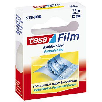 Traka ljepljiva obostrana 12mm7,5m Tesafilm Tesa 57910 blister