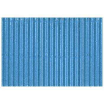 Papir ukrasni dvoslojni rebrasti B2 pk10 300g Heyda 2047132 33 svijetlo plavi