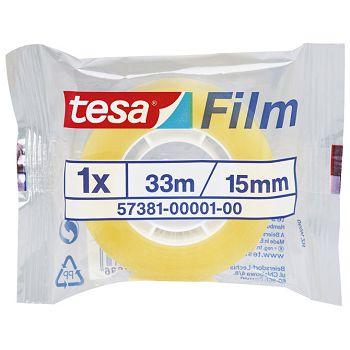 Traka ljepljiva 15mm33m Tesafilm Tesa 57381 prozirna