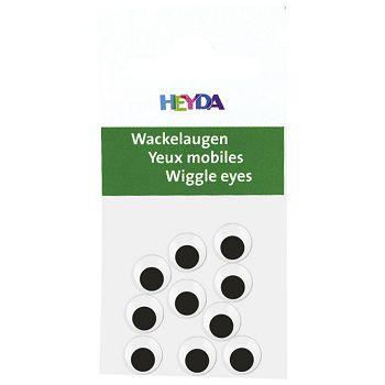 Oči pomične 7mm samoljepljive pk10 Heyda 20488881 07