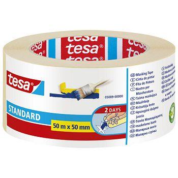 Traka ljepljiva krep 50mm50m Standard eko Tesa 5089