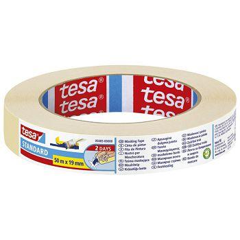 Traka ljepljiva krep 19mm50m Standard eko Tesa 5085