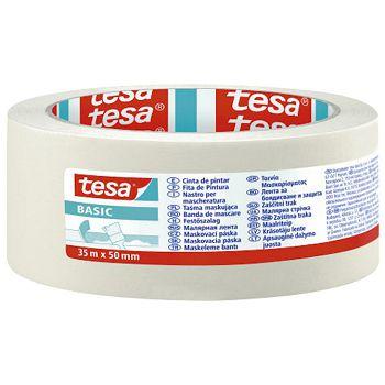 Traka ljepljiva krep 50mm35m Basic Tesa 58594