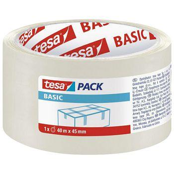 Traka ljepljiva 45mm40m Hot Melt Basic Tesa 585740000000 prozirna