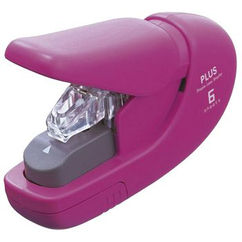 Stroj za spajanje do  5 listova mini bez spajalica Plus31148 rozi blister