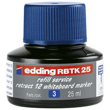 Tinta za marker za bijelu ploču 25ml Edding BTK25 plava