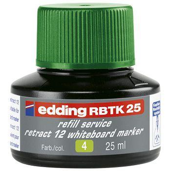 Tinta za marker za bijelu ploču 25ml Edding BTK25 zelena