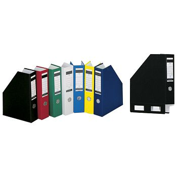 Stalak za spise okomit kartonski pp Donau 3949001PL11 žuti