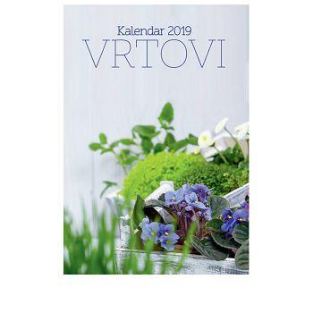 Kalendar Vrtovi 2020 13 listova, spirala