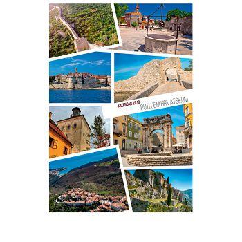 Kalendar Putujem Hrvatskom 2020 13 listova, spirala