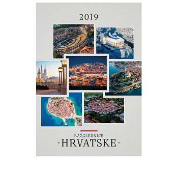 Kalendar Razglednice Hrvatske 2020 13 listova spirala