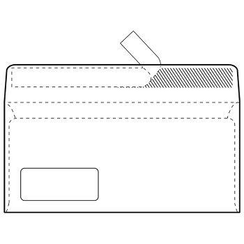 Kuverte ABTPL strip 80g pk100 Fornax