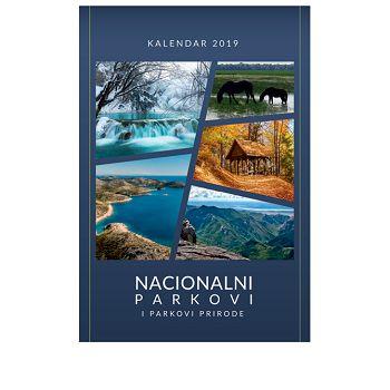 Kalendar Nacionalni parkovi i Parkovi Prirode 2020 13 listova, spirala