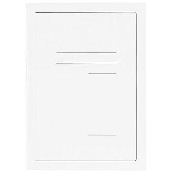Fascikl klapa karton lak A4 215g Vip Fornax bijeli