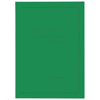 Fascikl klapa karton lak A4 215g Vip Fornax zeleni