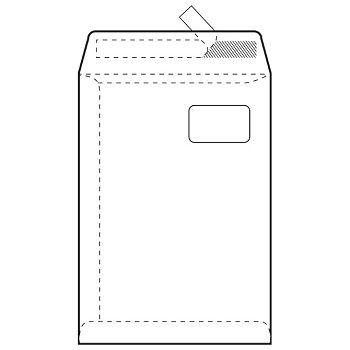 Kuverte  vrećice C4PD BB strip 90g pk250 Fornax