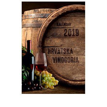 Kalendar Vino i vinogorja 2021 13 listova, spirala