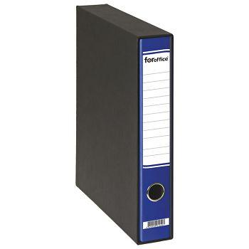 Registrator A4 uski u crnoj kutiji FORoffice plavi