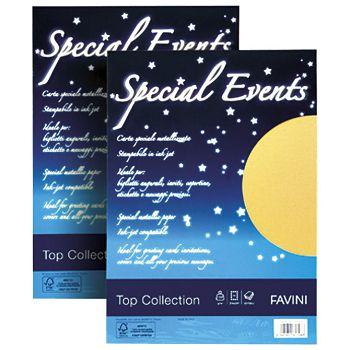 Papir ILK Special Events A4 120g pk20 Favini zlatni