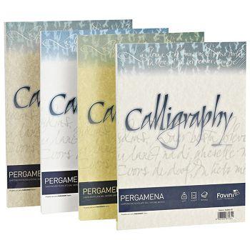 Papir ILK Calligraphy A4 90g pk50 Favini svijetlo smeđi